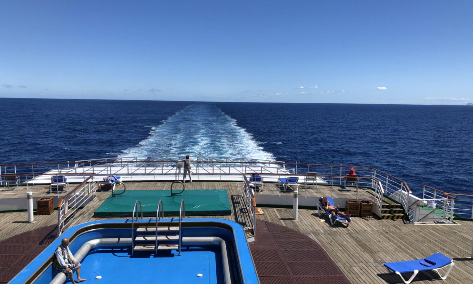 オセアニア航海ブログ